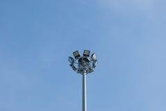 Licht auf zur Straße Stockbilder