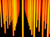 Licht beeldhouwwerk stock fotografie
