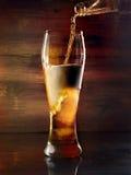 Licht bier royalty-vrije stock fotografie
