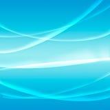 Licht blauw als achtergrond Royalty-vrije Stock Foto
