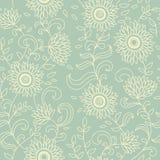 Licht bloemen uitstekend naadloos patroon royalty-vrije illustratie