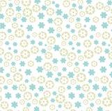 Licht bloemenpatroon Stock Afbeelding