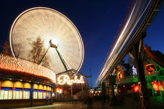 Licht Carnaval in Helsinki Royalty-vrije Stock Afbeelding
