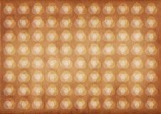 Licht cirkels retro patroon royalty-vrije stock foto