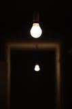 Licht in dark Royalty-vrije Stock Fotografie