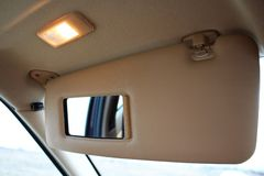 Licht de beschermingsvizier van de autozon Royalty-vrije Stock Fotografie