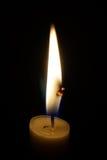 Licht in de duisternis Stock Afbeelding