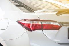Licht de rem mooi nieuw ontwerp van de autostaart stock fotografie