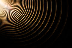 Licht in de tunnel royalty-vrije stock afbeelding