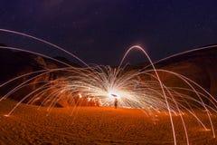 Licht in de Woestijn royalty-vrije stock fotografie