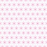 Licht de zomer naadloos patroon Dierbaar wit roze, Stock Foto