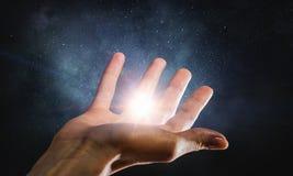 Licht der Hoffnung und des Glaubens Lizenzfreies Stockbild