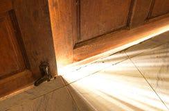 Licht der offenen Tür Lizenzfreie Stockfotos