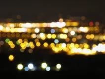 Licht der Stadt Lizenzfreie Stockbilder