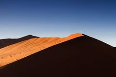 Licht des Dünen-großes Vatis morgens Stockbild