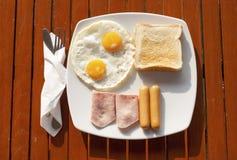Licht des Frühstücks morgens Stockfotos