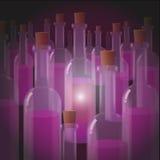 Licht des Traubenweins Lizenzfreie Stockfotos