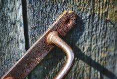 licht deur het houten geweven van het achtergrondknopclose-up Royalty-vrije Stock Afbeeldingen