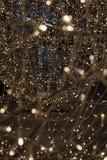 Licht door bij de stroboscoop die van de verlichtingsdecoratie te schieten wordt geschilderd royalty-vrije stock afbeeldingen