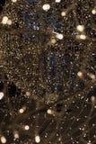 Licht door bij de stroboscoop die van de verlichtingsdecoratie te schieten wordt geschilderd stock afbeelding