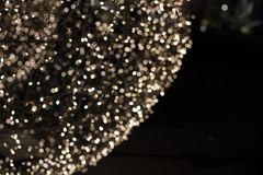 Licht door bij de stroboscoop die van de verlichtingsdecoratie te schieten wordt geschilderd royalty-vrije stock foto's