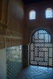 Licht door gesneden steen Royalty-vrije Stock Afbeeldingen