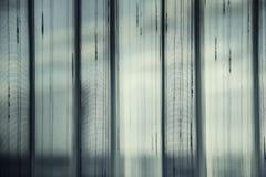 Licht door Gordijn royalty-vrije stock afbeelding