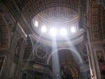 Licht door St. Peter royalty-vrije stock fotografie