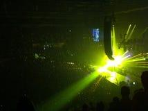 Licht an einem Konzert Stockfotos