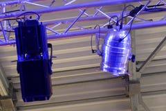 Licht en een schaduw van stadiumreflector Royalty-vrije Stock Foto's