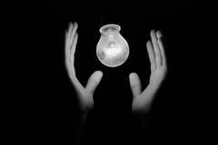 Licht en energie Stock Afbeeldingen
