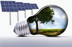Licht en Milieu Royalty-vrije Stock Foto