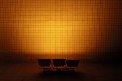 Licht en muur Royalty-vrije Stock Foto's