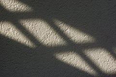 Licht en schaduw op de muur Royalty-vrije Stock Foto's