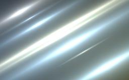 Licht en strepen die zich snel over donkere achtergrond bewegen stock illustratie