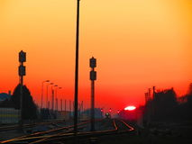 Licht am Ende des Tunnels Lizenzfreie Stockfotografie