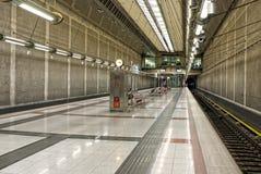 Licht am Ende des Tunnels Lizenzfreie Stockfotos