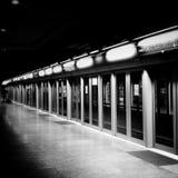 Licht am Ende des Tunnels Stockfotografie