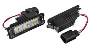 Licht führte Birnen für Autolampen Auto geführt für Haloringe und -engel Lizenzfreies Stockfoto