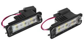 Licht führte Birnen für Autolampen Auto geführt für Haloringe und -engel Lizenzfreies Stockbild