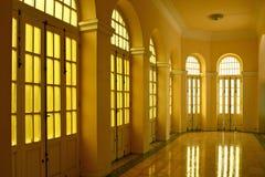 Licht am Foyer Stockfoto