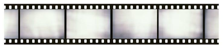 Licht-gelekte filmstrook Royalty-vrije Stock Foto's