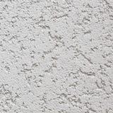 Licht Grey Wall Stucco Texture, Gedetailleerd Natuurlijk Gray Coarse Rustic Textured Background, Concrete Exemplaarruimte royalty-vrije stock fotografie