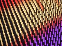 Licht haftet abstraktes Feld Stockfotos