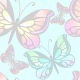 Licht het achtergrond van Vlinders Royalty-vrije Stock Fotografie
