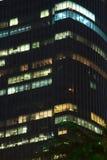 Licht in het bureaugebouw Stock Foto