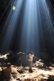 Licht in het hol. Royalty-vrije Stock Fotografie