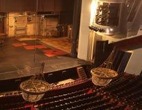 Licht in het theater Royalty-vrije Stock Foto's