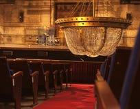 Licht in het theater Stock Afbeelding
