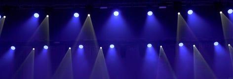 Licht im Theater Stockbild